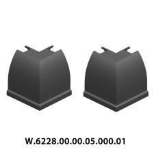 BKS  8-10 MM BAZA ARA KAPAĞI 90 DERECE  (GRİ)