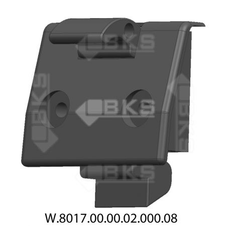 KCS MORTISE LOCK (BLACK)