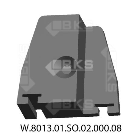 KCS SIDE COLUMN COVER LEFT (BLACK)